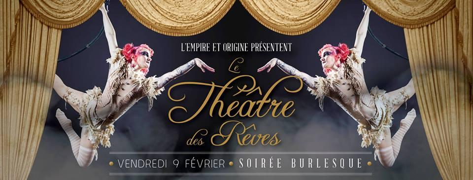 Théâtre des Rêves – Soirée Burlesque